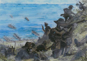Gallipoli Landing - part 2 by tuomaskoivurinne
