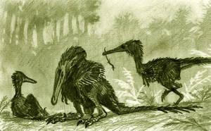 Buitreraptor gonzalezorum by tuomaskoivurinne