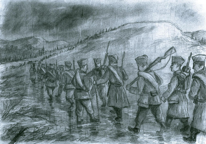 Serbia, November 1915 by tuomaskoivurinne