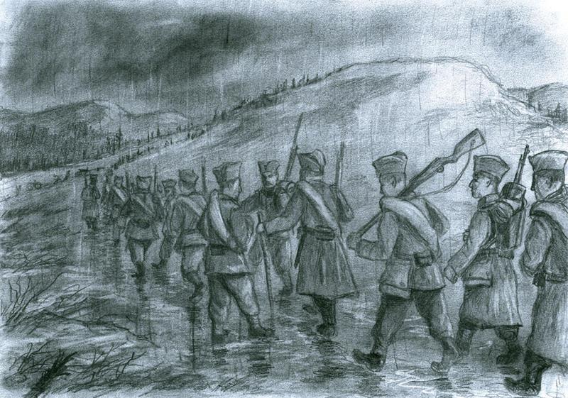 Serbia, November 1915 by tuomaskoivurinne