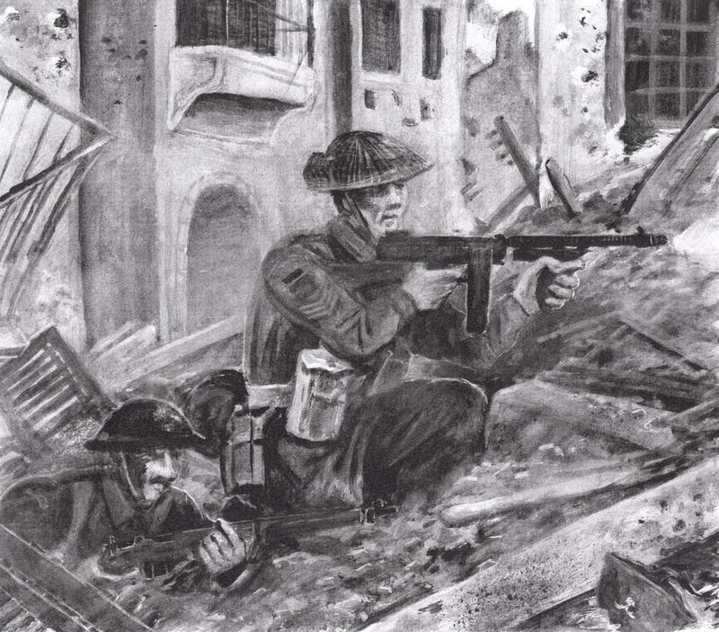 Loyal Edmontons in Ortona 1943 by tuomaskoivurinne