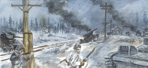 Winter War in the Frontline 8