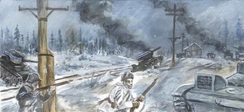 Winter War in the Frontline 8 by tuomaskoivurinne