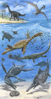 Jagua Vieja Formation fauna by tuomaskoivurinne