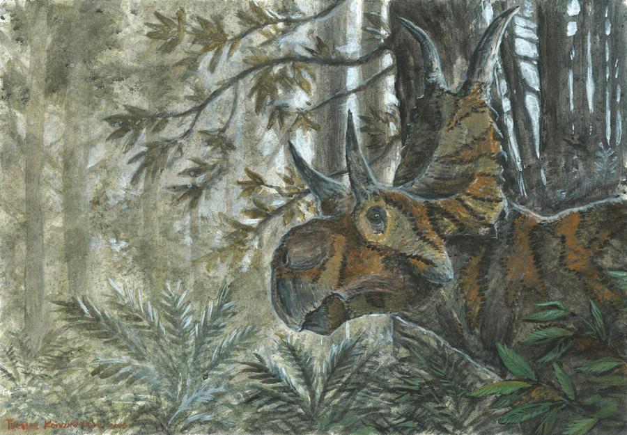 Horns02: Diabloceratops by tuomaskoivurinne