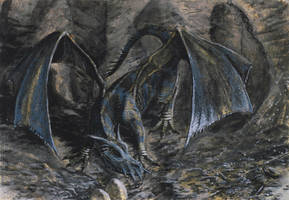 Dragon's Lair by tuomaskoivurinne