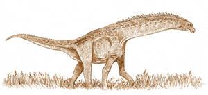 Isisaurus colberti by tuomaskoivurinne