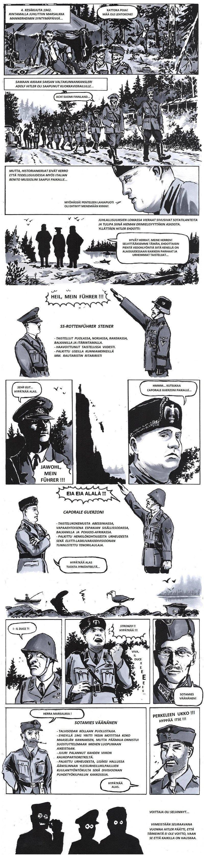 Mannerheim's Birthday 1942 by tuomaskoivurinne
