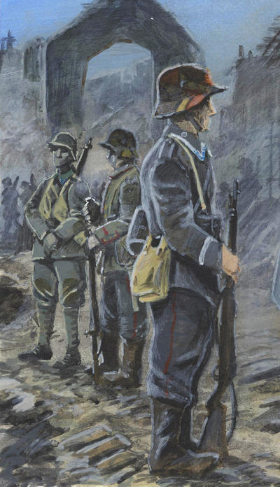 German infantrymen 1918 by tuomaskoivurinne