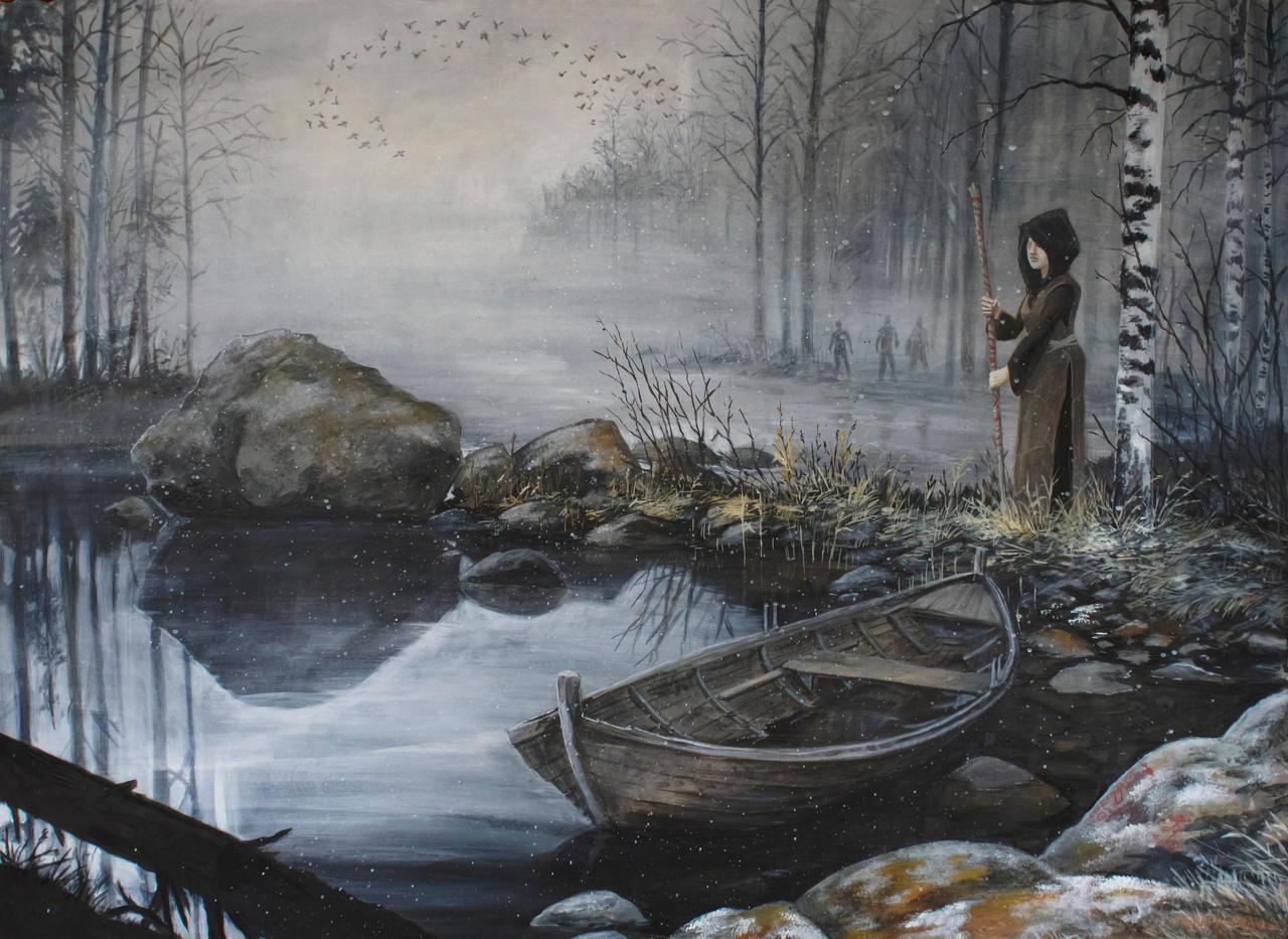 Journey to Tuonela III by tuomaskoivurinne