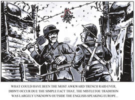 WW1 Christmas humour by tuomaskoivurinne