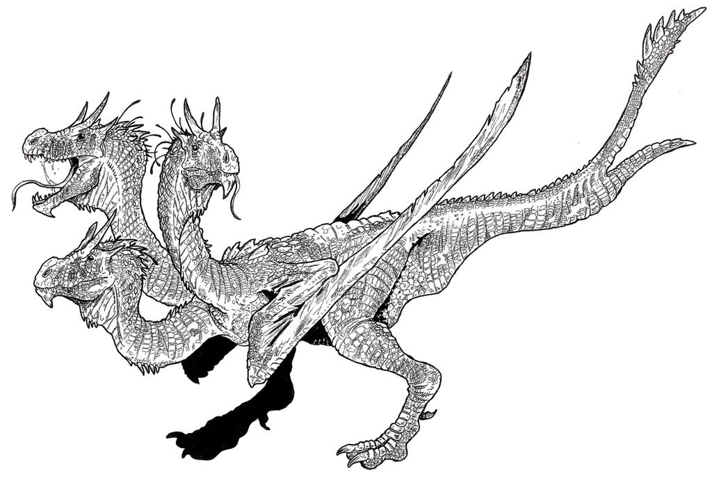 Kaiju: Kingu Gidora by tuomaskoivurinne