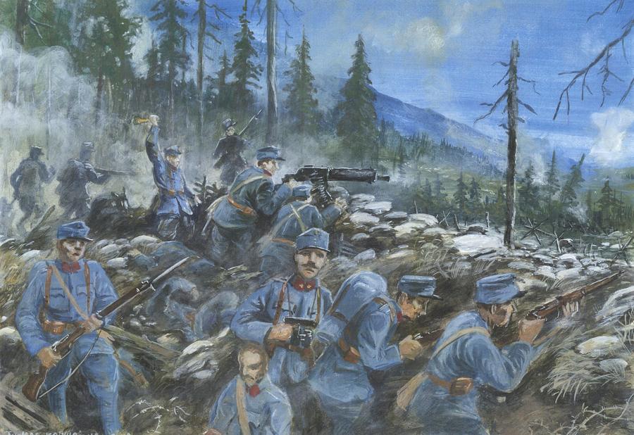 Strafexpedition 1916 by tuomaskoivurinne