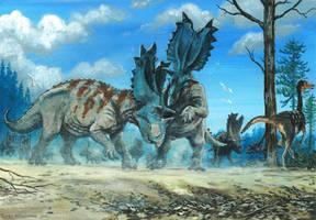 Horns21: Utahceratops by tuomaskoivurinne