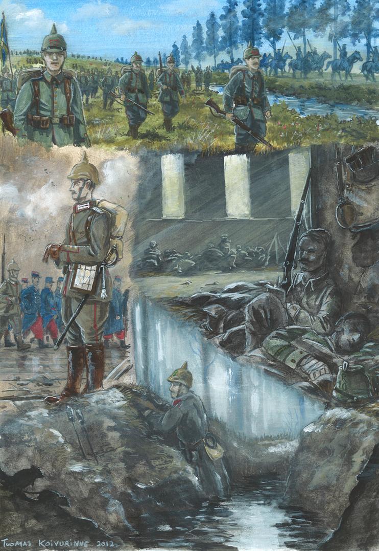 Western Front 1914 by tuomaskoivurinne