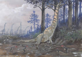 The mysterious case of Mr Giraffatitan by tuomaskoivurinne