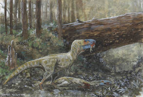 ''Frightful lizard'' by tuomaskoivurinne