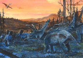 Horns30: Bravoceratops by tuomaskoivurinne