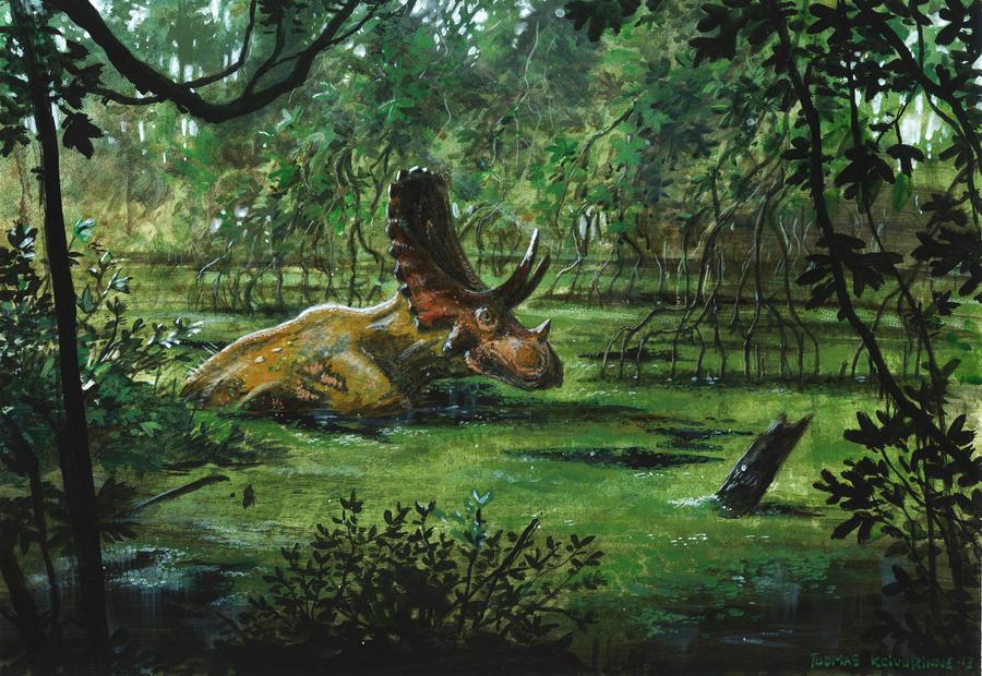 Horns31: Judiceratops by tuomaskoivurinne