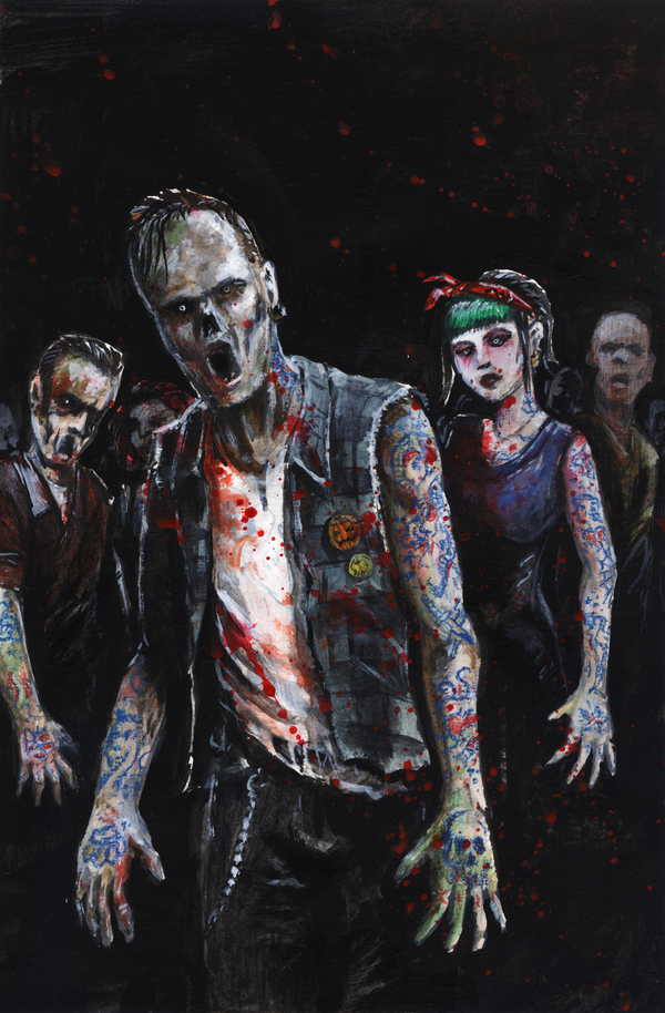 Zombies by tuomaskoivurinne