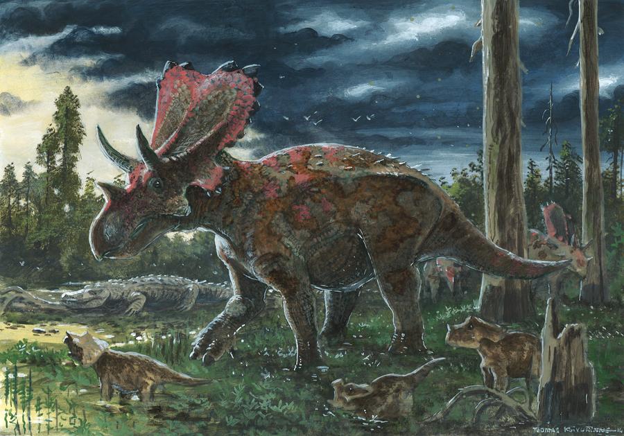 Horns32: Mercuriceratops by tuomaskoivurinne