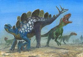 Hesperosaurus mjosi by tuomaskoivurinne