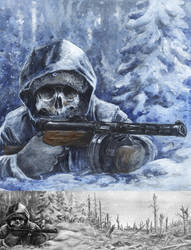 White Death with m31 KP by tuomaskoivurinne