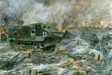 Schneider CA1 - Aisne 1917 by tuomaskoivurinne