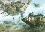 Mark II - Arras 1917, Mk V and Mk V* - Amiens 1918