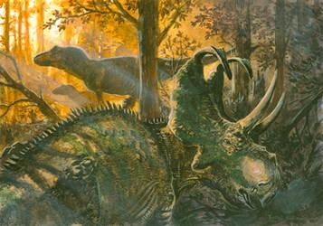 Horns35: Machairoceratops by tuomaskoivurinne