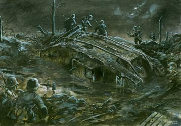 Mark IV - Flanders 1917 by tuomaskoivurinne