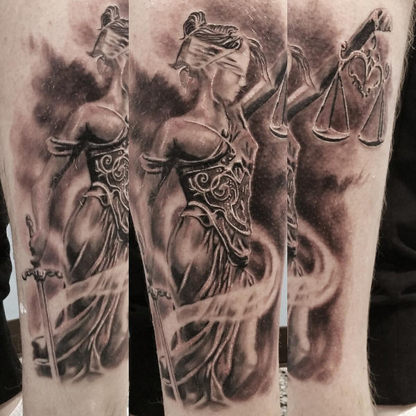 lady justice tattoo by tuomaskoivurinne on deviantart rh tuomaskoivurinne deviantart com lady justice tattoo meaning lady justice tattoo meaning
