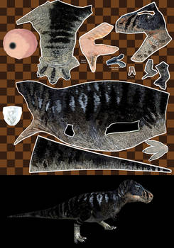 Tyrannosaurus texturing contest