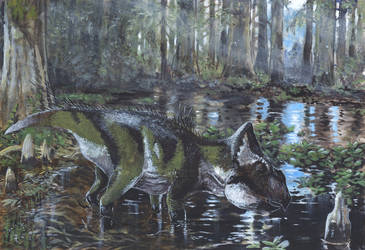 Saurian - Leptoceratops by tuomaskoivurinne
