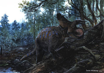 Horns38: Crittendenceratops by tuomaskoivurinne
