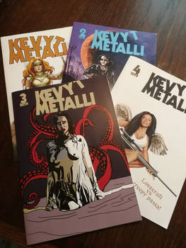 New issues of Kevyt Metalli
