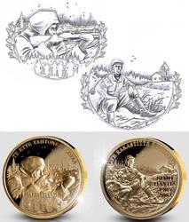 Simo Hayha medal