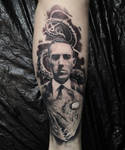 Lovecraft tattoo by tuomaskoivurinne