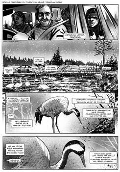 Aivokurkiainen - short Finn comic