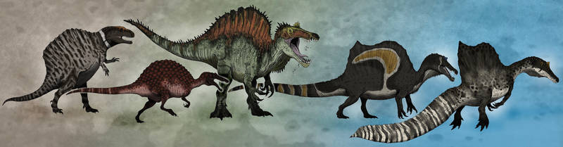 Spinosaurus in Science and Culture 1915-2020 by tuomaskoivurinne