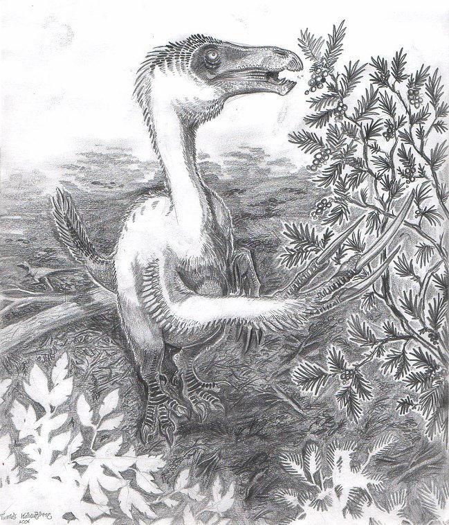 Nanshiungosaurus brevispinus by tuomaskoivurinne