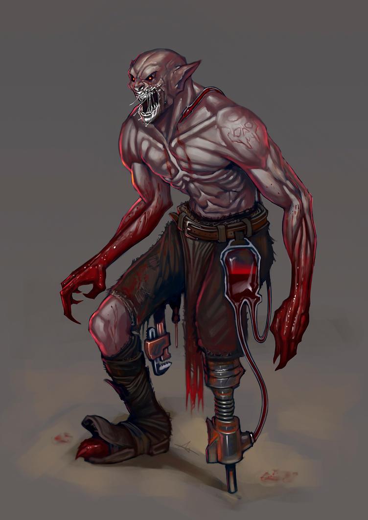 Character Design Challenge Vampire : Vampire character design challengue by jelux on deviantart
