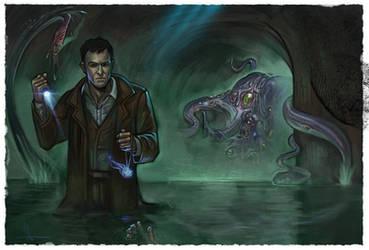 Lovecraft Shoggoth by Jelux09