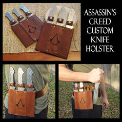 Assassin's Creed Custom Knife Holster by Spoon333