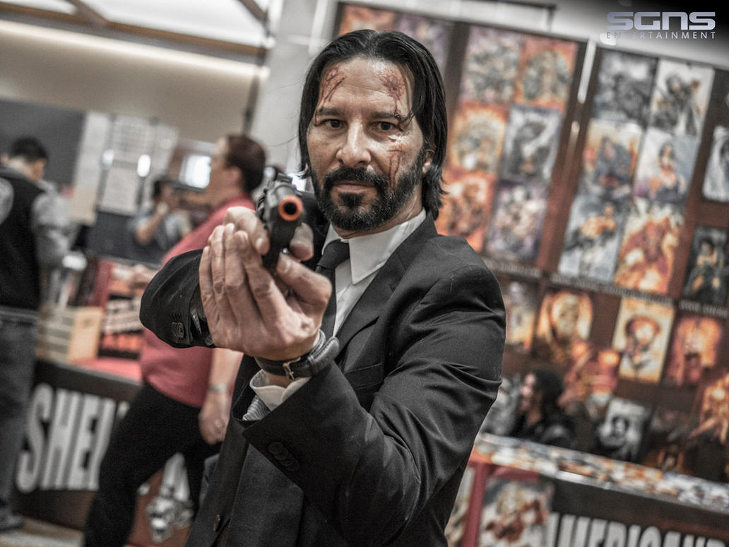 John Wick Cosplay by The-1One