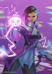 Sombra - Overwatch (speedpaint)