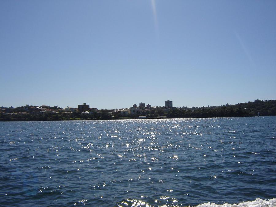 Sydney shoreline by extramaster