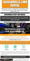 Jacksonville Limousine Rental   Call (904) 601-090