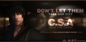 CSA Recruitment Poster/Advertisement/Etc