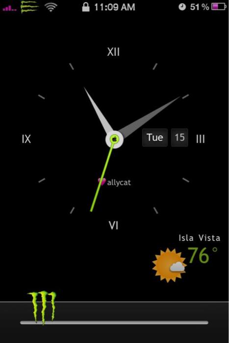 Analock HD' Lockscreen iPhone by aktanner on DeviantArt
